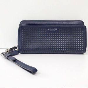 COACH LEGACY Perforated Leather Wallet Style 49000